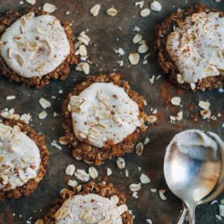 Really Good Raw Vegan Oatmeal Cookies.