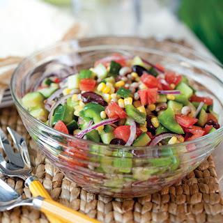 Black-Eyed Pea Greek Salad.