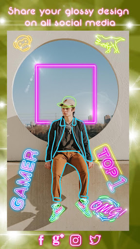 Neon Photo Editor ? Light Effects for Pictures 1.1 screenshots 6