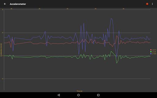 Android Sensors screenshot 9