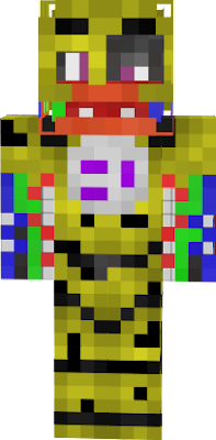 I totally forgot that Withered Chica's beak is wider open... Oops `\-w-/`