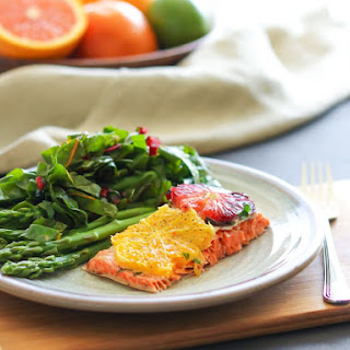 Baked Salmon with Citrus and Herbs