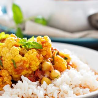 Slow Cooker Chickpea Tikka Masala with Cauliflower Recipe