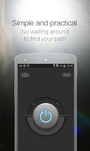 CM Flashlight (Compass, SOS) screenshot 2