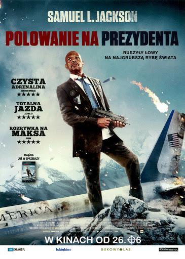 Przód ulotki filmu 'Polowanie Na Prezydenta'