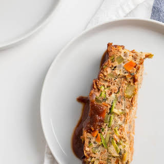 Gluten-Free Turkey Meatloaf with Zucchini Noodles.