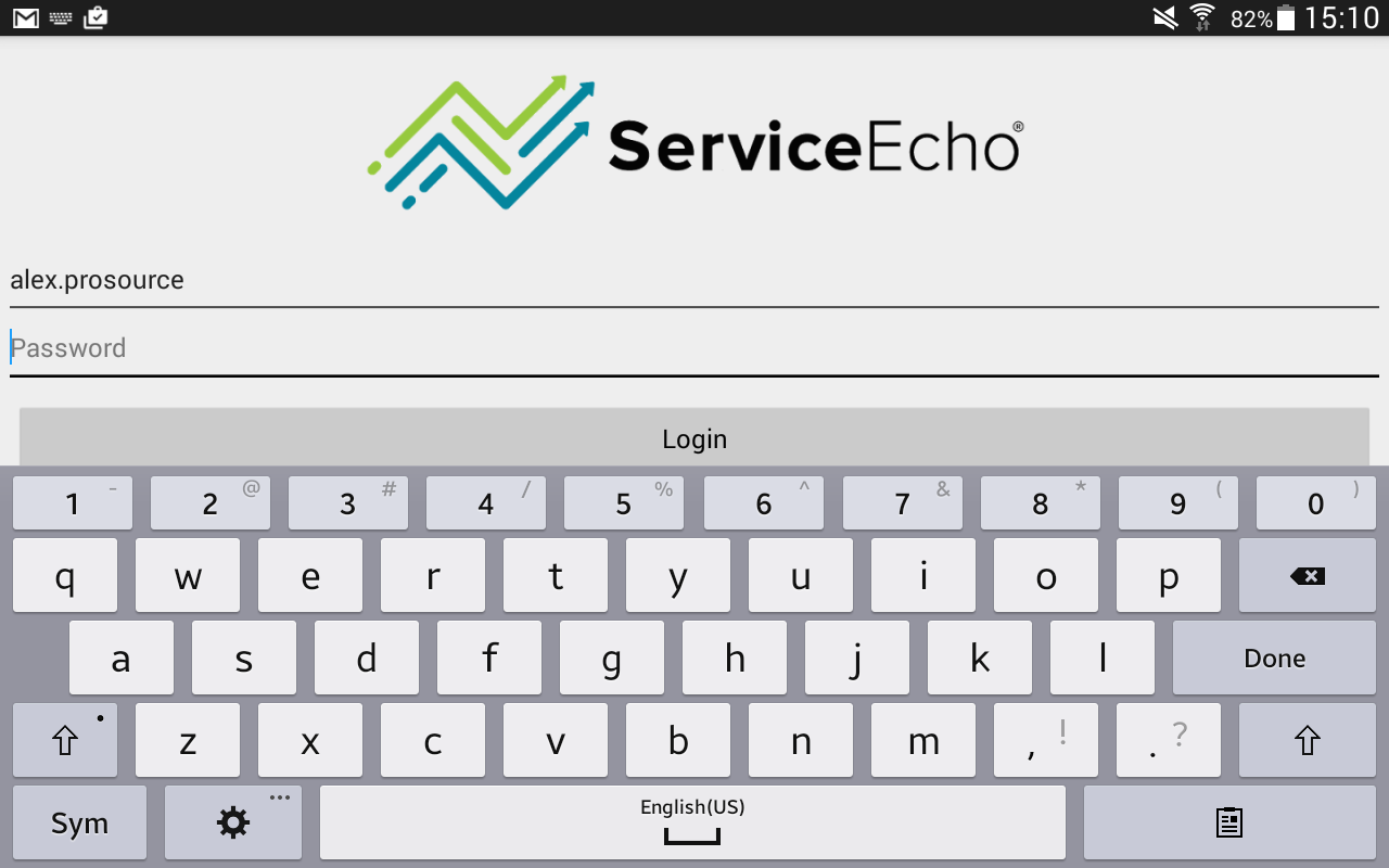 ServiceEcho- screenshot