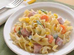 Ranch-style Noodles With Ham Recipe