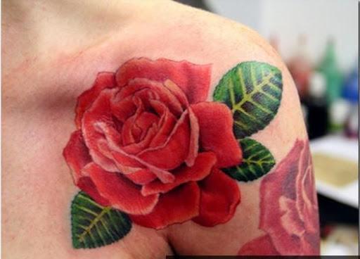 花のタトゥーのデザイン|玩生活App免費|玩APPs