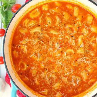 Creamy Tomato & Tortellini Soup Recipe