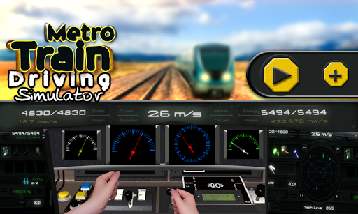Metro Train Driving Simulator