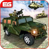 OffRoad US Army Prado : Stealth Transport Duty Sim