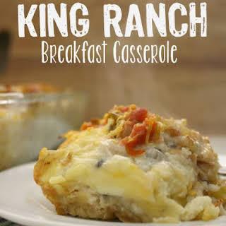 King Ranch Breakfast Casserole.