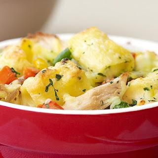 Chicken Pasta Casserole.
