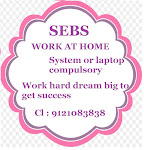 part time job works-weekly payment by sebs.
