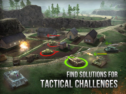 Armor Age: Tank Wars u2014 WW2 Platoon Battle Tactics apkpoly screenshots 11