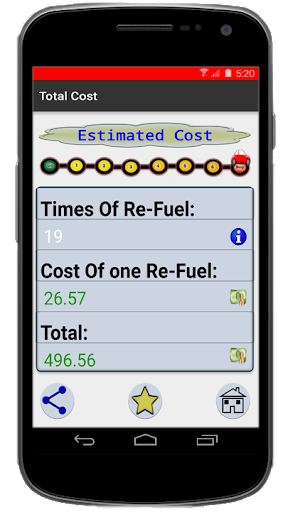 Gas Travel - Calculator