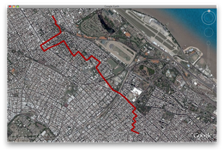 Photo: Sunday walk from Palermo to Belgrano