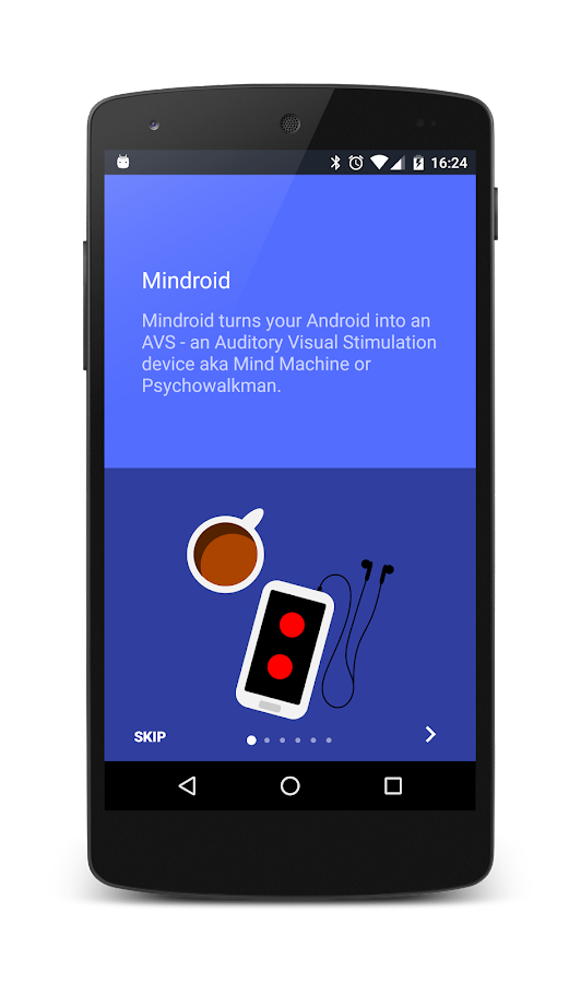 Mindroid- screenshot