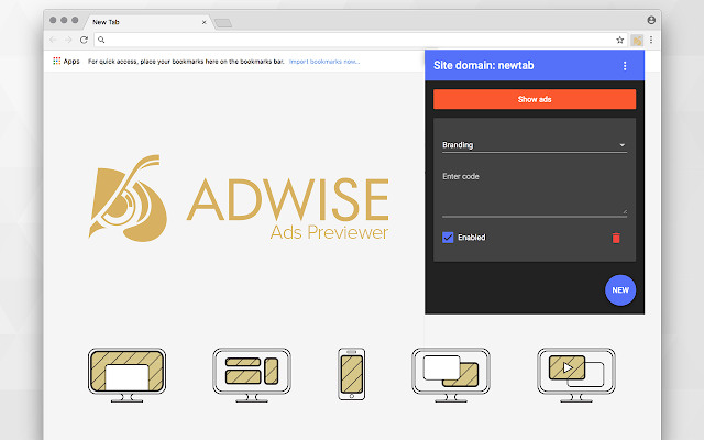 Adwise Ads Previewer