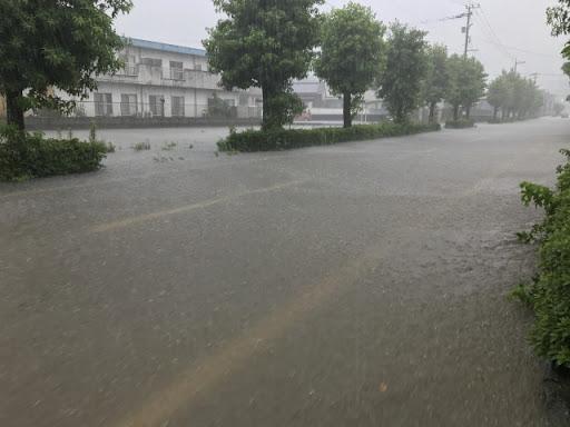 豪雨の被害①