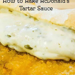 McDonalds Tartar Sauce.