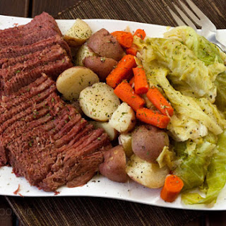 Pressure Cooker Corned Beef and Cabbage.