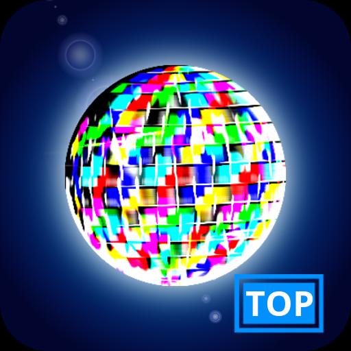 Disco Light: Flashlight with Strobe Light & Music