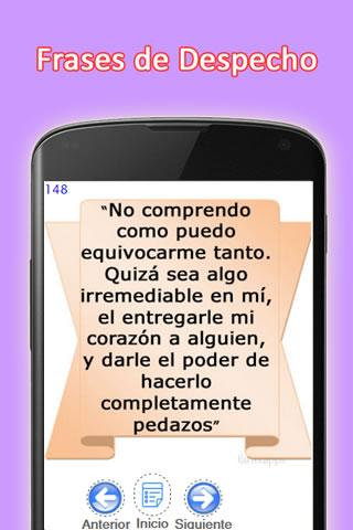 100 Frases de Despecho- screenshot