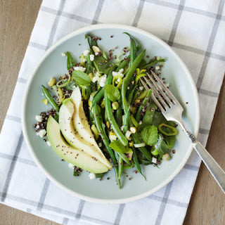 Green Bean & Avocado Quinoa Salad