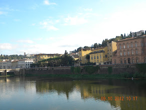 Photo: An afternoon along the Arno river