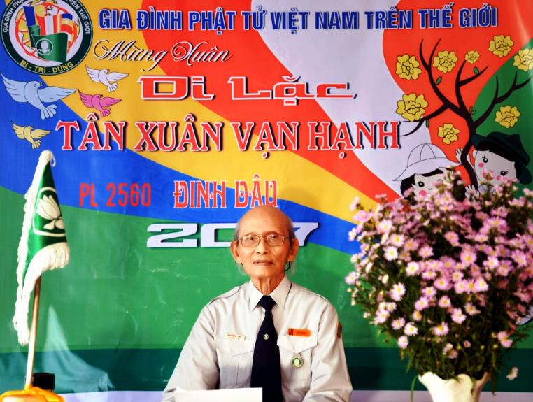 Thư chúc tết Đinh Dậu – 2017 của Huynh Trưởng Trưởng Ban Hướng Dẫn GĐPTVN Trên Thế Giới