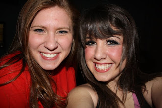 Photo: My best friend and I after the last Oklahoma! performance our senior year :)