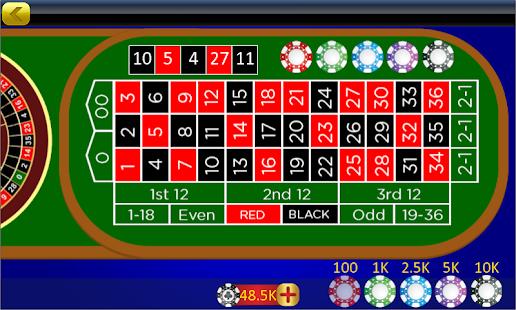 Roulette Offline Online - náhled