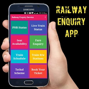 Railway Apps - Railway Enquiry, PNR Status, IRCTC - náhled