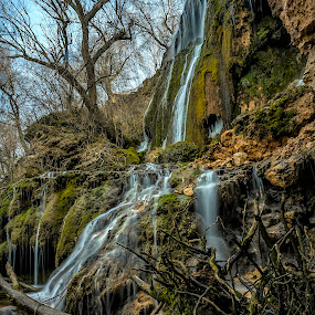 Krushuna Green Waterfall by Mihail Marzyanov - Landscapes Mountains & Hills