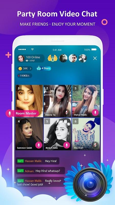 StreamKar - Live Streaming, Live Chat, Live Video screenshots