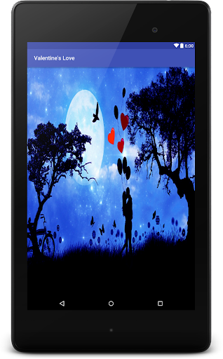 Valentine Love Live Wallpaper Screenshot 5