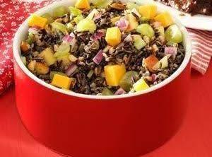 Almond & Apple Wild Rice Salad Recipe