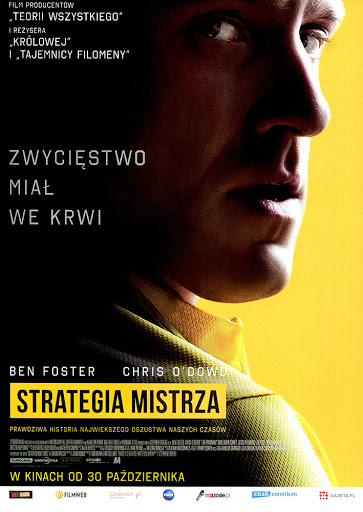 Przód ulotki filmu 'Strategia Mistrza'