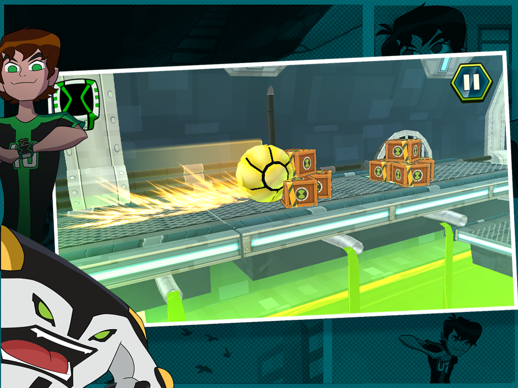 Undertown Chase - Ben 10- screenshot