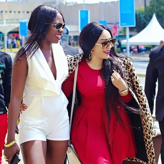Image result for Akothee and zari
