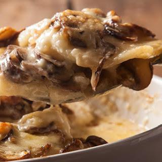 Creamy Mushroom-Potato Gratin