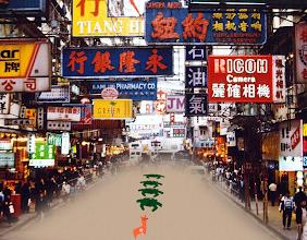 Photo: 河蟹也出国了? #七一草泥马节