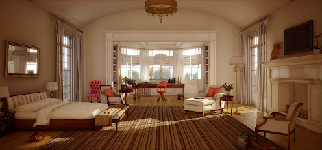 Photo: 3D/Architectural Visualisation:This day light 3d render is part of a five step-by-step tutorial I have created!