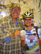 Photo: Angel Delgadillo signs a Botts dot for Susan