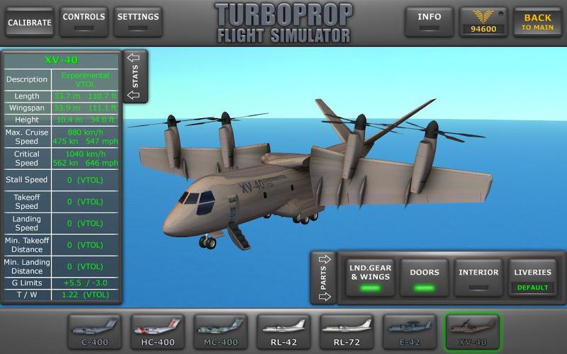 Turboprop Flight Simulator 3D Screenshot 16