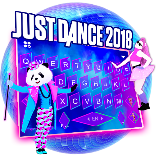Just Dance 2018 Official Free Keyboard