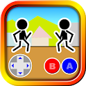 Fighting games Mokken: stick man battle icon