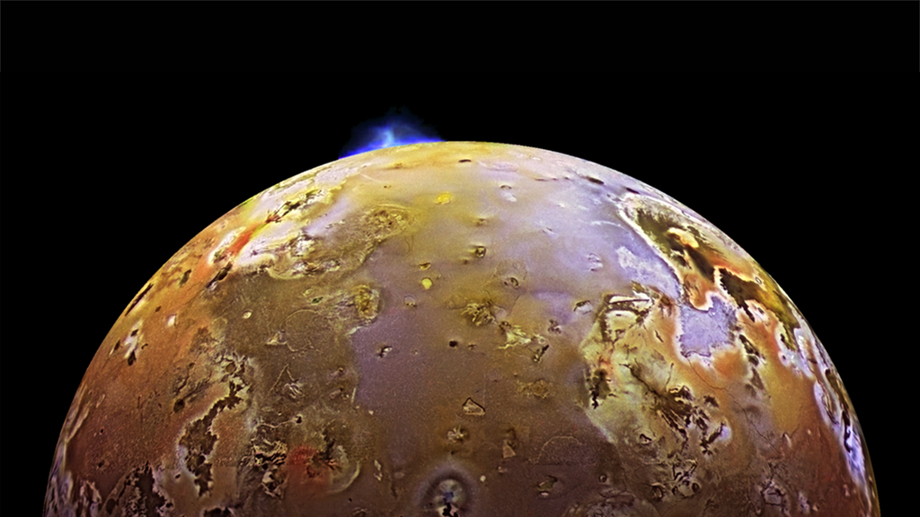 Jupiter's innermost moon, Io
